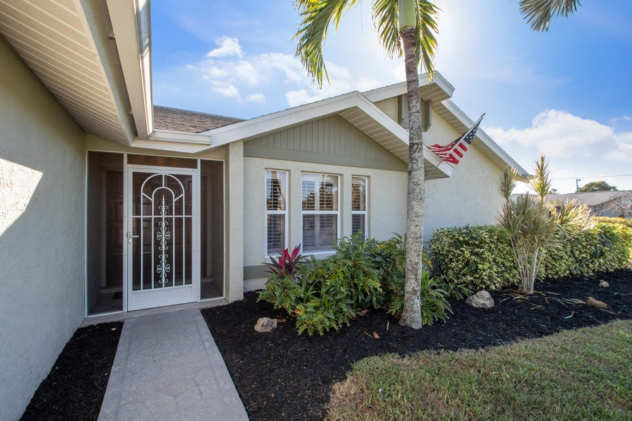 Real Estate Photography - 246 SW 39th St, Cape Coral, FL, 33914 - Entrance