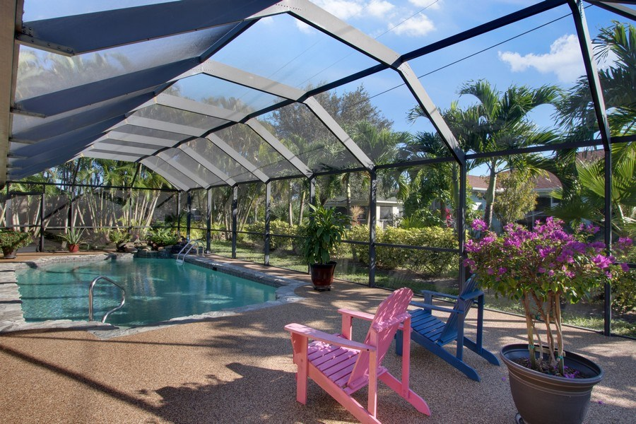 Real Estate Photography - 246 SW 39th St, Cape Coral, FL, 33914 - Sundeck