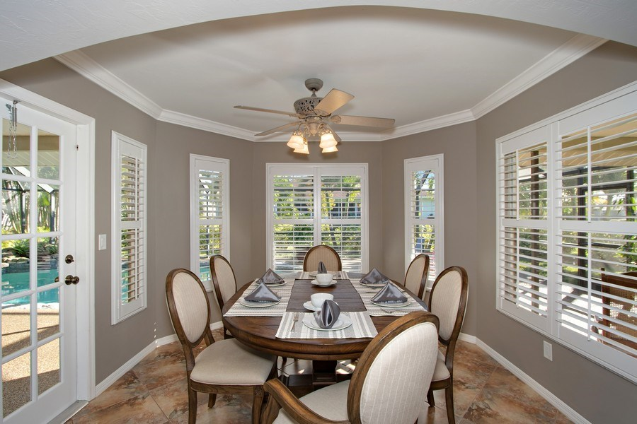 Real Estate Photography - 246 SW 39th St, Cape Coral, FL, 33914 - Breakfast Nook
