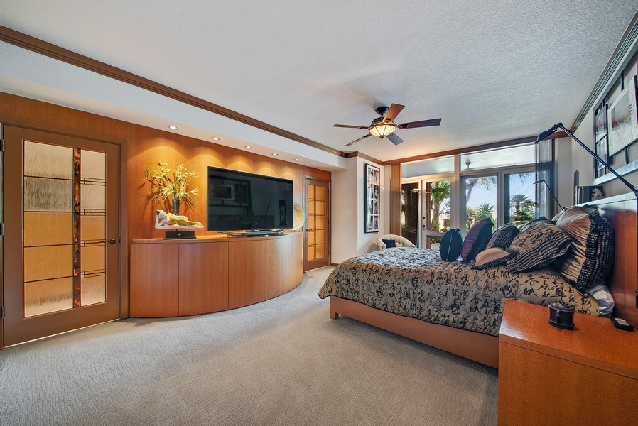 Real Estate Photography - 300 SE 5th Ave, Unit 2140, Boca Raton, FL, 33432 - Master Bedroom