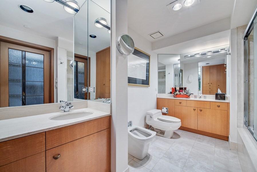 Real Estate Photography - 300 SE 5th Ave, Unit 2140, Boca Raton, FL, 33432 - Master Bathroom