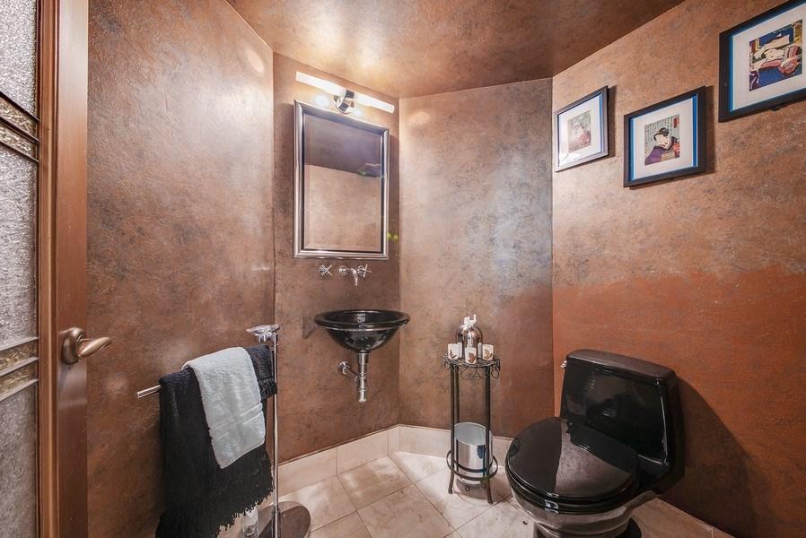 Real Estate Photography - 300 SE 5th Ave, Unit 2140, Boca Raton, FL, 33432 - Powder Room
