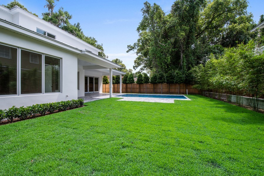 Real Estate Photography - 1560 Bryan Ave, Winter Park, FL, 32789 - Back Yard