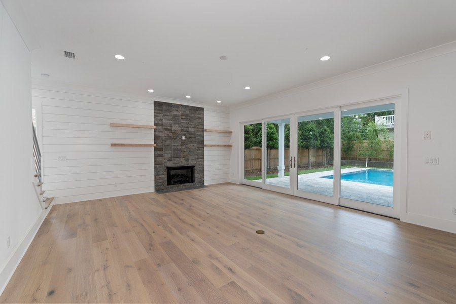 Real Estate Photography - 1560 Bryan Ave, Winter Park, FL, 32789 - Family Room