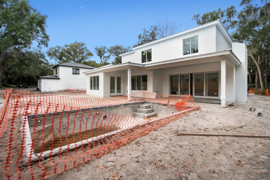 Real Estate Photography - 1560 Bryan Ave, Winter Park, FL, 32789 - Rear View