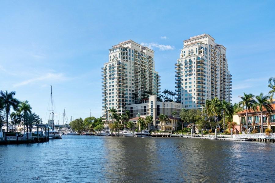 Real Estate Photography - 610 W Las Olas Blvd, Unit 1213, Fort Lauderdale, FL, 33312 - Front View