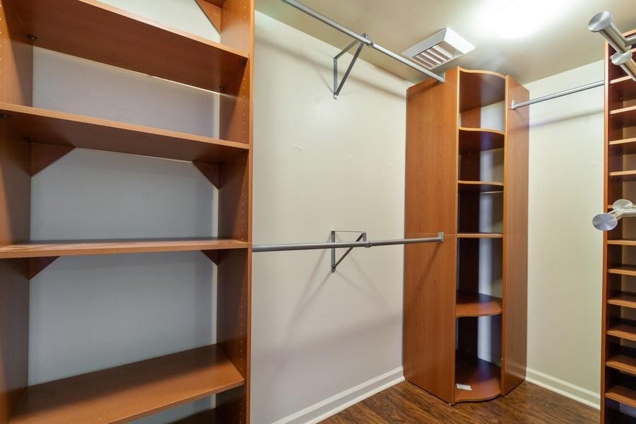 Real Estate Photography - 610 W Las Olas Blvd, Unit 1213, Fort Lauderdale, FL, 33312 - Master Bedroom Closet