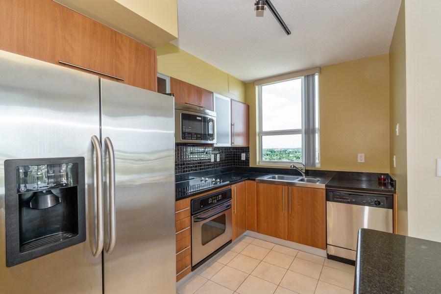 Real Estate Photography - 610 W Las Olas Blvd, Unit 1213, Fort Lauderdale, FL, 33312 - Kitchen