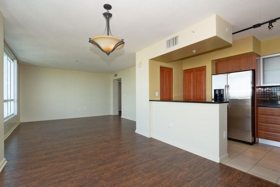 Real Estate Photography - 610 W Las Olas Blvd, Unit 1213, Fort Lauderdale, FL, 33312 - Kitchen / Living Room