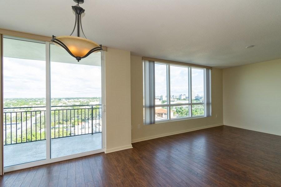 Real Estate Photography - 610 W Las Olas Blvd, Unit 1213, Fort Lauderdale, FL, 33312 - Living Room / Dining Room
