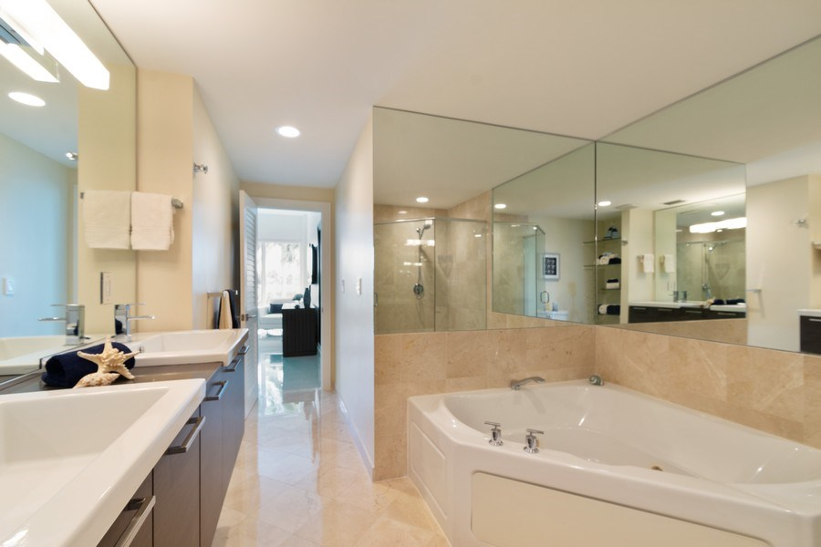 Real Estate Photography - 431 Hendricks isle, Ft lauderdale, FL, 33301 - Master Bathroom