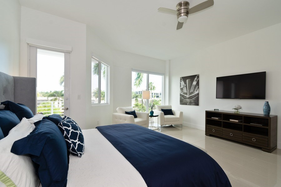 Real Estate Photography - 431 Hendricks isle, Ft lauderdale, FL, 33301 - Master Bedroom