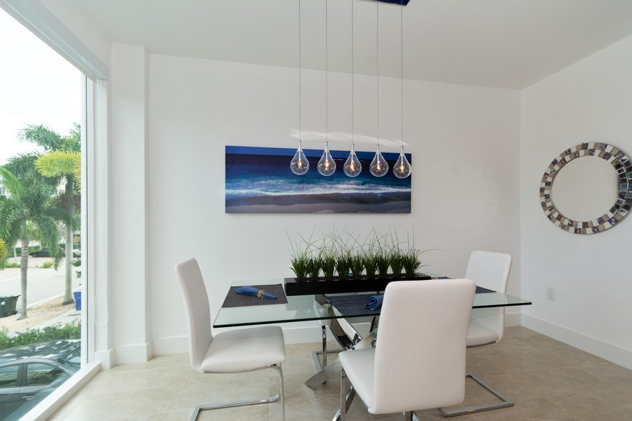 Real Estate Photography - 431 Hendricks isle, Ft lauderdale, FL, 33301 - Dining Room