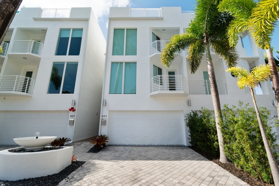 Real Estate Photography - 431 Hendricks isle, Ft lauderdale, FL, 33301 - Front View