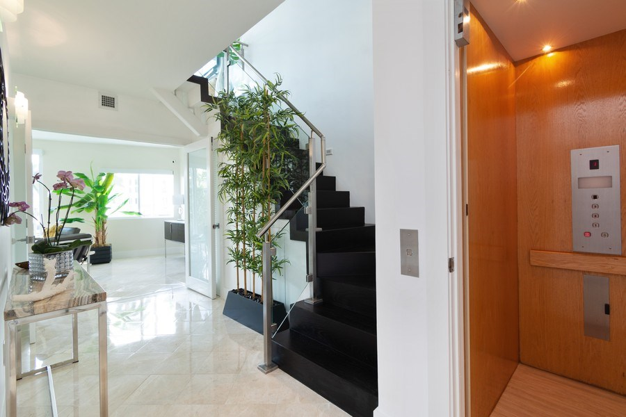 Real Estate Photography - 431 Hendricks isle, Ft lauderdale, FL, 33301 - Foyer-Elevator