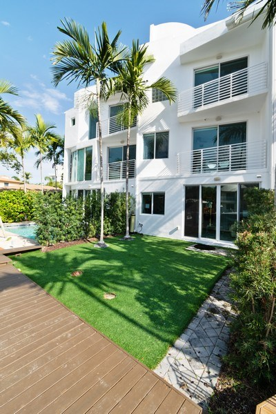 Real Estate Photography - 431 Hendricks isle, Ft lauderdale, FL, 33301 - Rear View