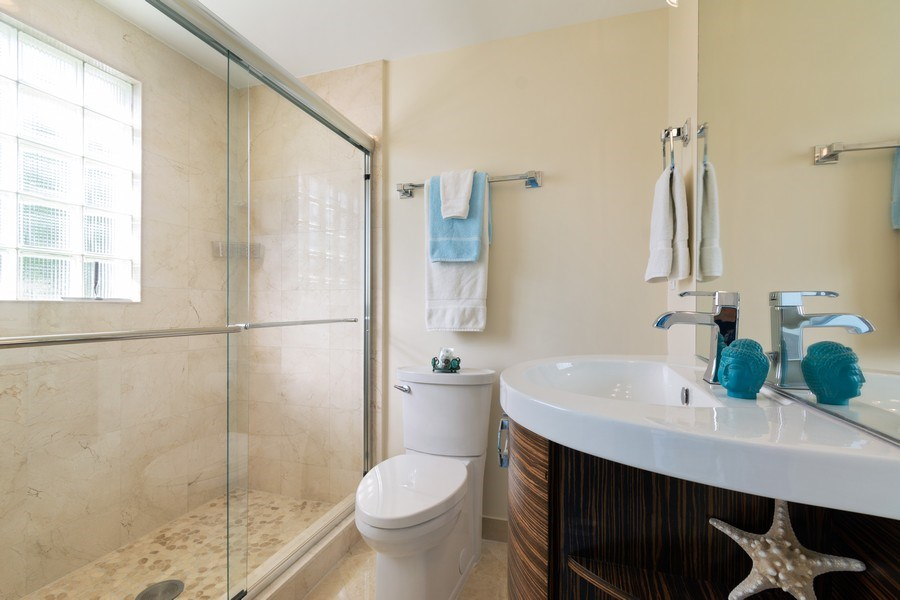 Real Estate Photography - 431 Hendricks isle, Ft lauderdale, FL, 33301 - 2nd Bathroom