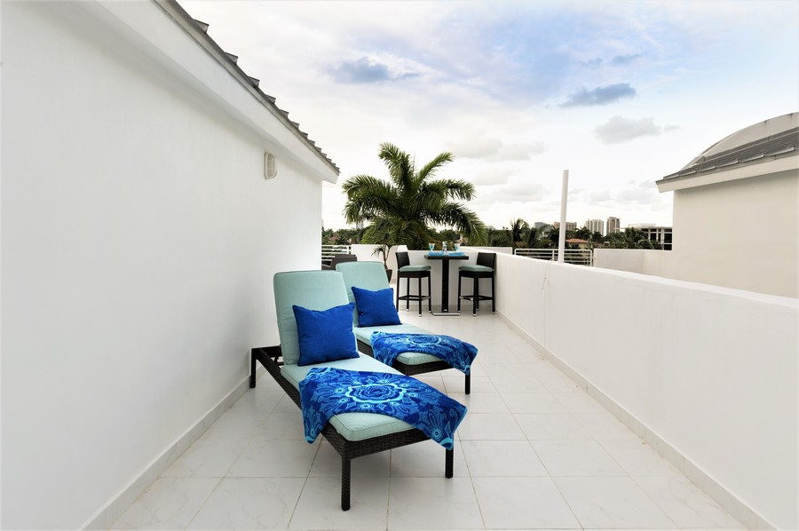 Real Estate Photography - 431 Hendricks isle, Ft lauderdale, FL, 33301 - Roof Top