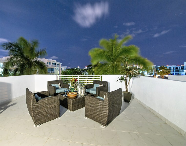 Real Estate Photography - 431 Hendricks isle, Ft lauderdale, FL, 33301 - Rooftop Terrace