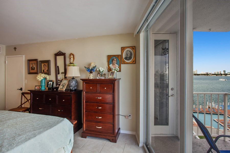Real Estate Photography - 1228 West Ave, 405, Miami Beach, FL, 33139 - Master Bedroom