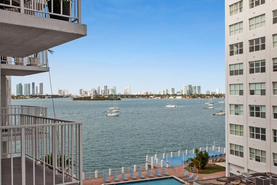 Real Estate Photography - 1228 West Ave, 405, Miami Beach, FL, 33139 - View