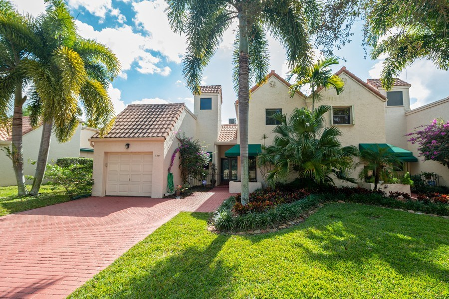 Real Estate Photography - 6360 Via Tierra, Boca Raton, FL, 33433 - Front View