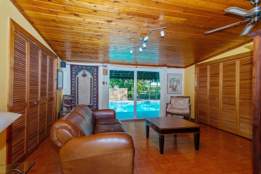 Real Estate Photography - 9301 SW 93rd Ave., Miami, FL, 33176 - Family Room