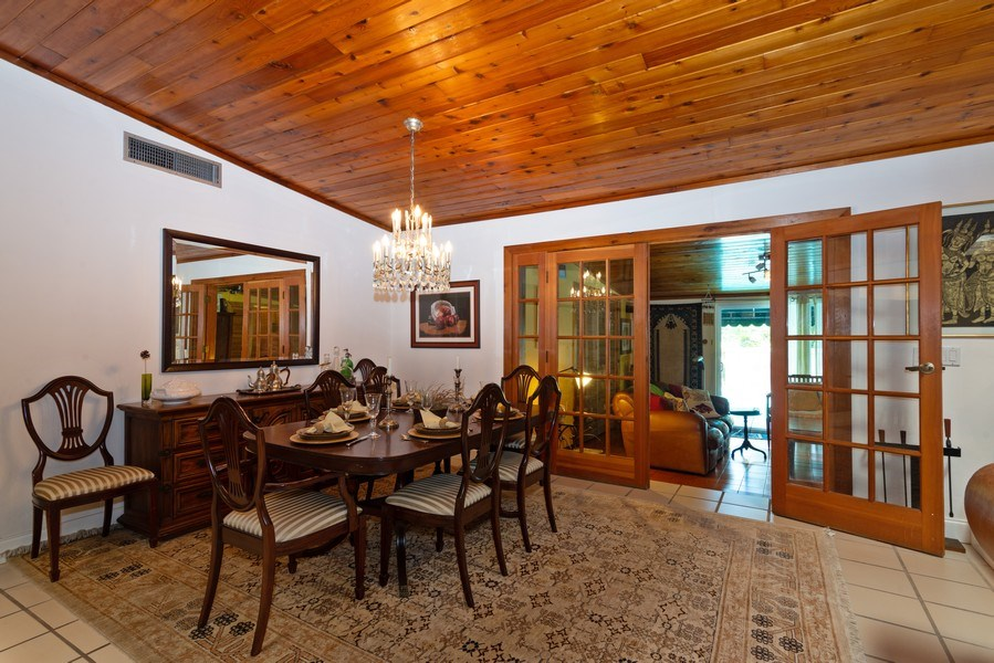 Real Estate Photography - 9301 SW 93rd Ave., Miami, FL, 33176 - Family Room / Dining Room