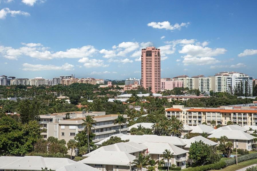 Real Estate Photography - 1500 S Ocean Blvd, S1103/4, Boca Raton, FL, 33432 - City View