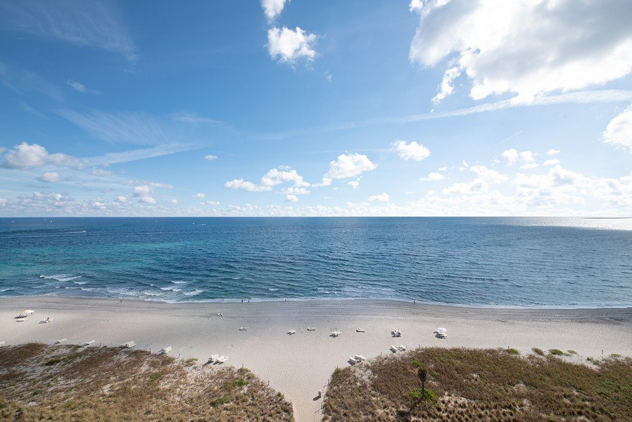 Real Estate Photography - 1500 S Ocean Blvd, S1103/4, Boca Raton, FL, 33432 - Beach