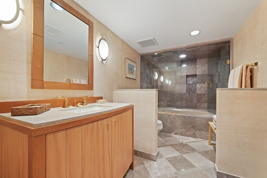 Real Estate Photography - 1500 S Ocean Blvd, S1103/4, Boca Raton, FL, 33432 - Bathroom