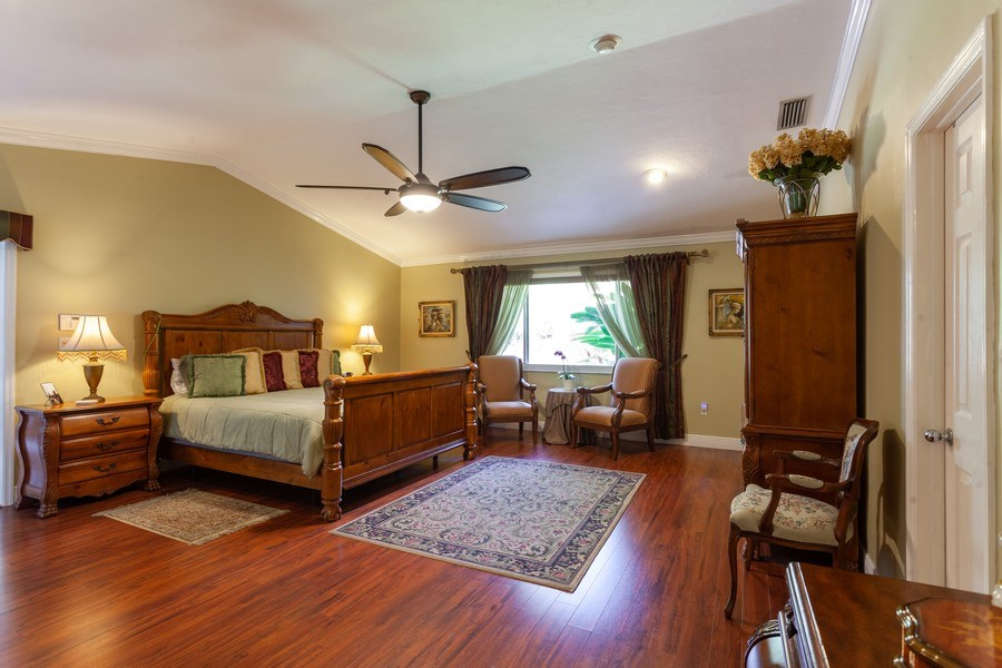 Real Estate Photography - 7781 SW 162nd St, Palmetto Bay, FL, 33157 - Master Bedroom