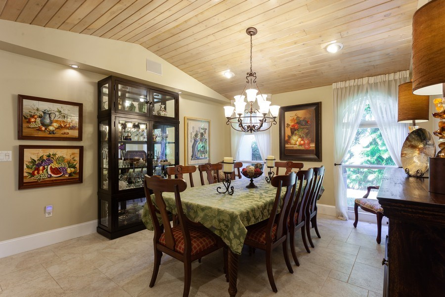Real Estate Photography - 7781 SW 162nd St, Palmetto Bay, FL, 33157 - Dining Room