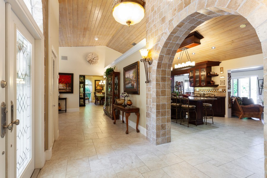 Real Estate Photography - 7781 SW 162nd St, Palmetto Bay, FL, 33157 - Foyer