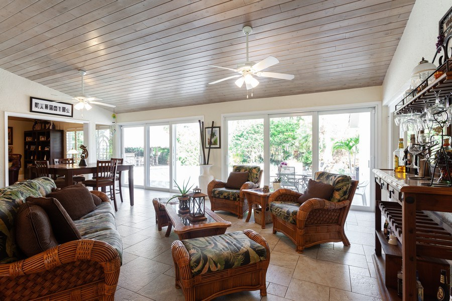 Real Estate Photography - 7781 SW 162nd St, Palmetto Bay, FL, 33157 - Living Room/Dining Room