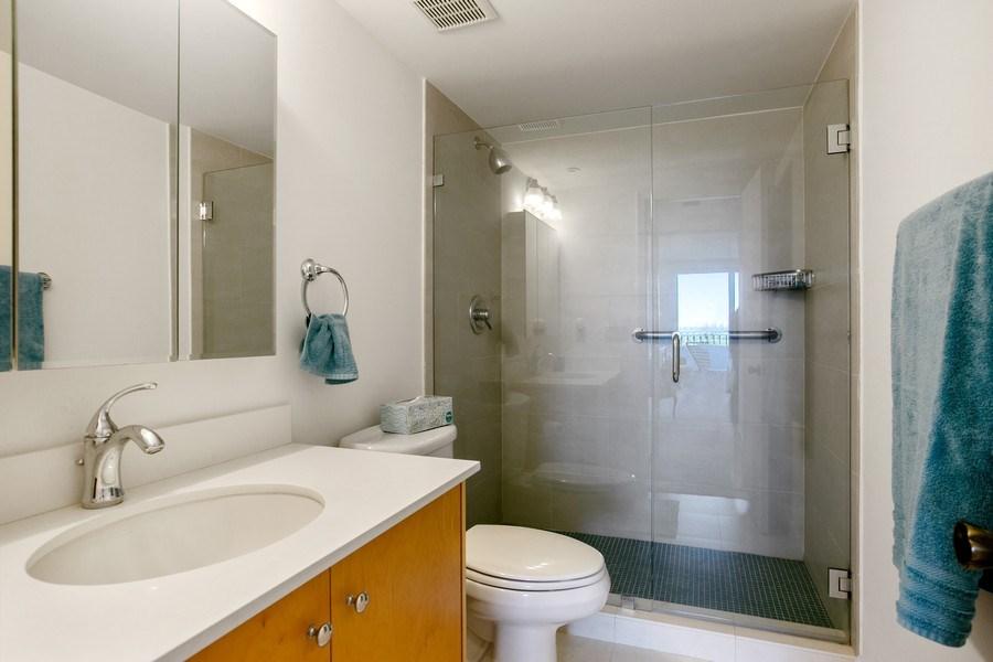 Real Estate Photography - 177 Ocean Lane Dr, Unit 702, Key Biscayne, FL, 33149 - Master Bathroom