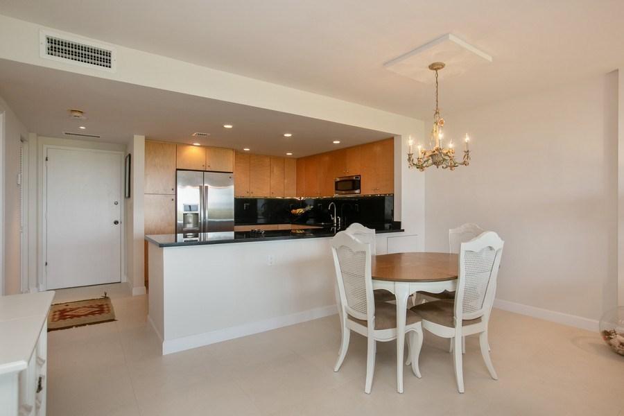 Real Estate Photography - 177 Ocean Lane Dr, Unit 702, Key Biscayne, FL, 33149 - Dining Room