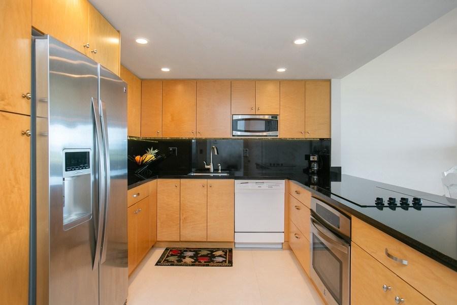 Real Estate Photography - 177 Ocean Lane Dr, Unit 702, Key Biscayne, FL, 33149 - Kitchen