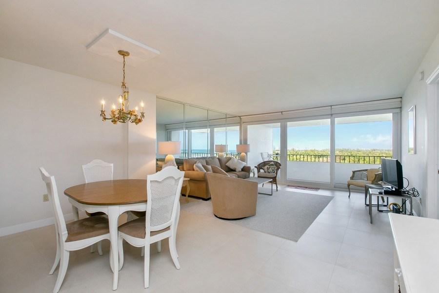 Real Estate Photography - 177 Ocean Lane Dr, Unit 702, Key Biscayne, FL, 33149 - Living Room / Dining Room