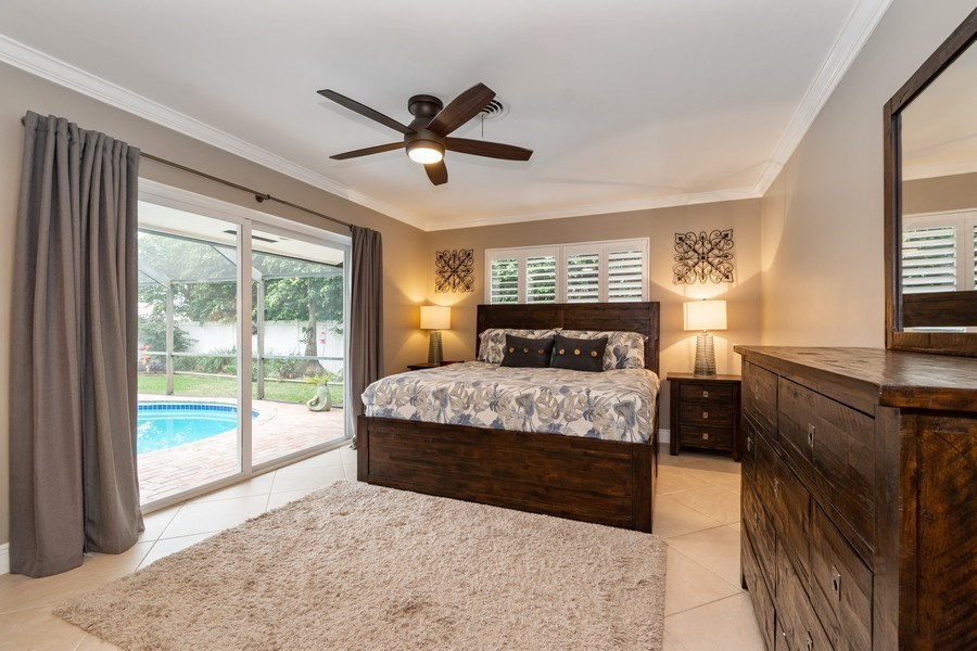Real Estate Photography - 2140 NE 63rd St, Fort Lauderdale, FL, 33308 - Master Bedroom