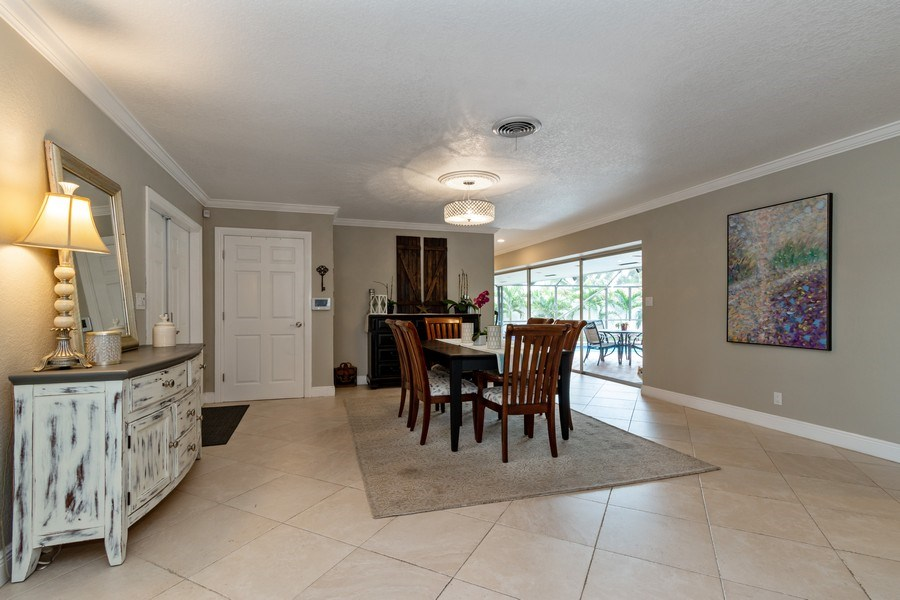 Real Estate Photography - 2140 NE 63rd St, Fort Lauderdale, FL, 33308 - Dining Room
