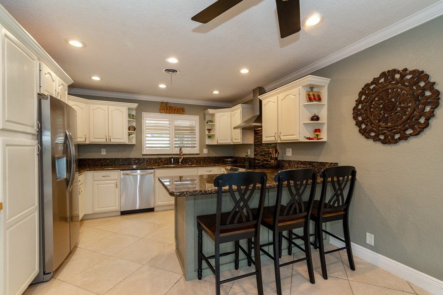 Real Estate Photography - 2140 NE 63rd St, Fort Lauderdale, FL, 33308 - Kitchen