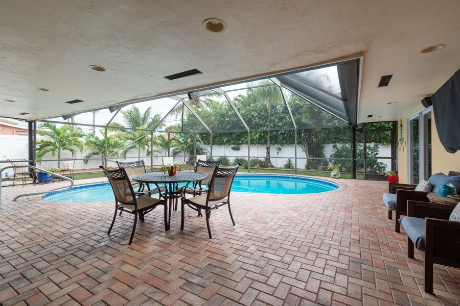 Real Estate Photography - 2140 NE 63rd St, Fort Lauderdale, FL, 33308 - Patio