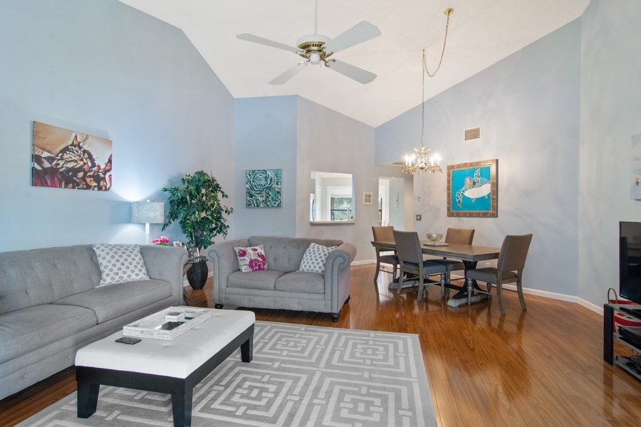 Real Estate Photography - 6080 SE Martinique Dr, Apt 202, Stuart, FL, 34997 - Great room