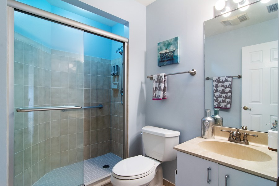 Real Estate Photography - 6080 SE Martinique Dr, Apt 202, Stuart, FL, 34997 - Bathroom