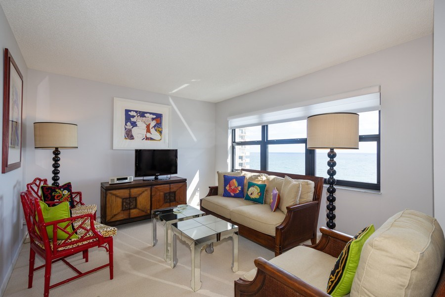 Real Estate Photography - 4900 N Ocean Blvd, 1117, LAUDERDALE BY THE SEA, FL, 33308 - Family Room