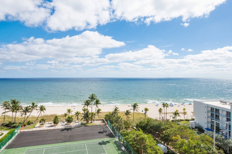 Real Estate Photography - 4900 N Ocean Blvd, 1117, LAUDERDALE BY THE SEA, FL, 33308 - Ocean View