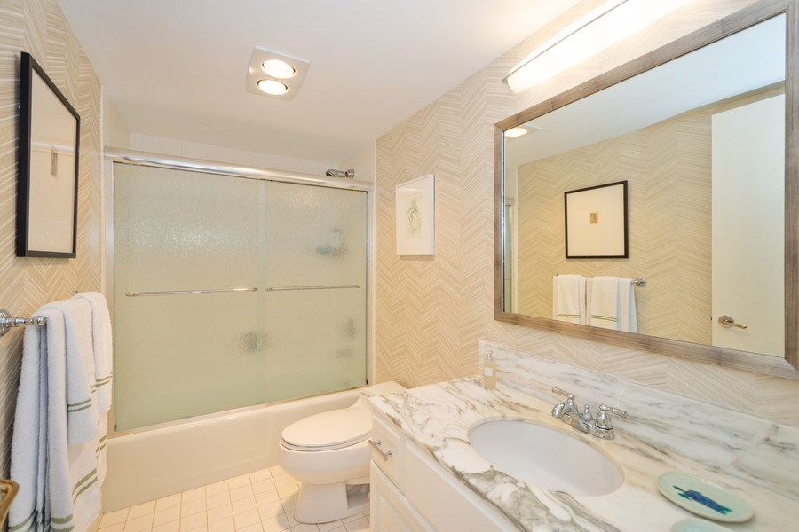 Real Estate Photography - 4900 N Ocean Blvd, 1117, LAUDERDALE BY THE SEA, FL, 33308 - 2nd Bathroom