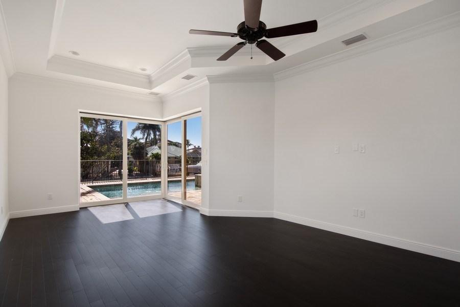 Real Estate Photography - 494 Segal Ave, Naples, FL, 34108 - Master Bedroom