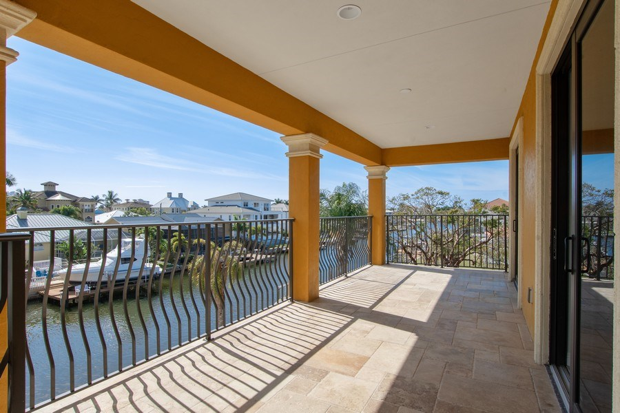 Real Estate Photography - 494 Segal Ave, Naples, FL, 34108 - Balcony